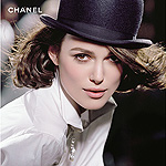 Coco pop: Keira Knightly as the face of Chanel