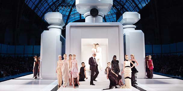 Chanel couture diary