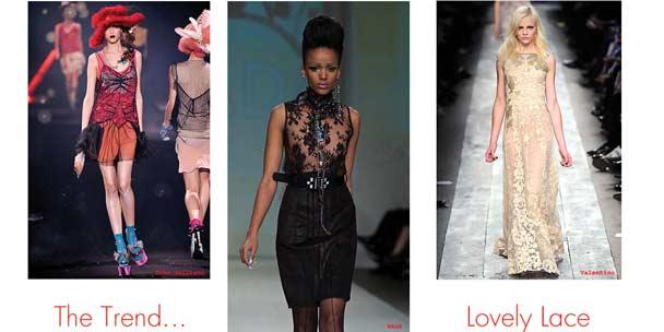 Wear it well: Ladylike lace