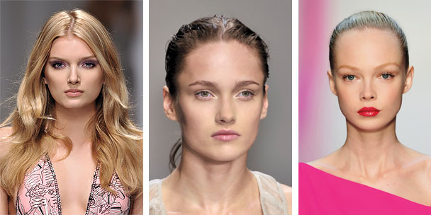 Spring beauty trends: Hot lips, eyes and golden skin