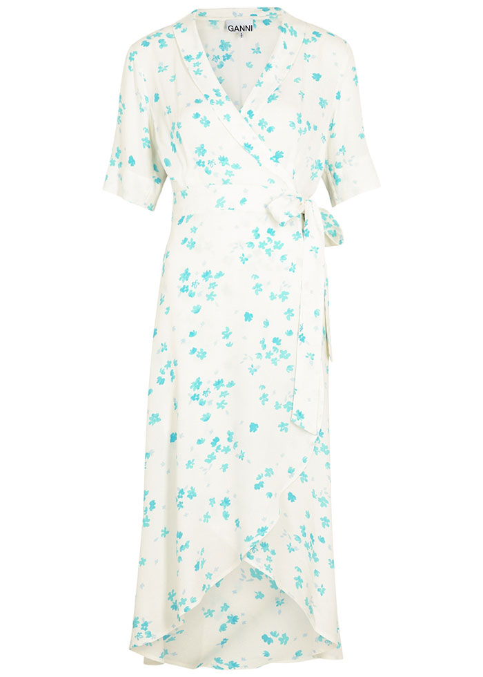 Ganni floral dress - Harvey Nichols