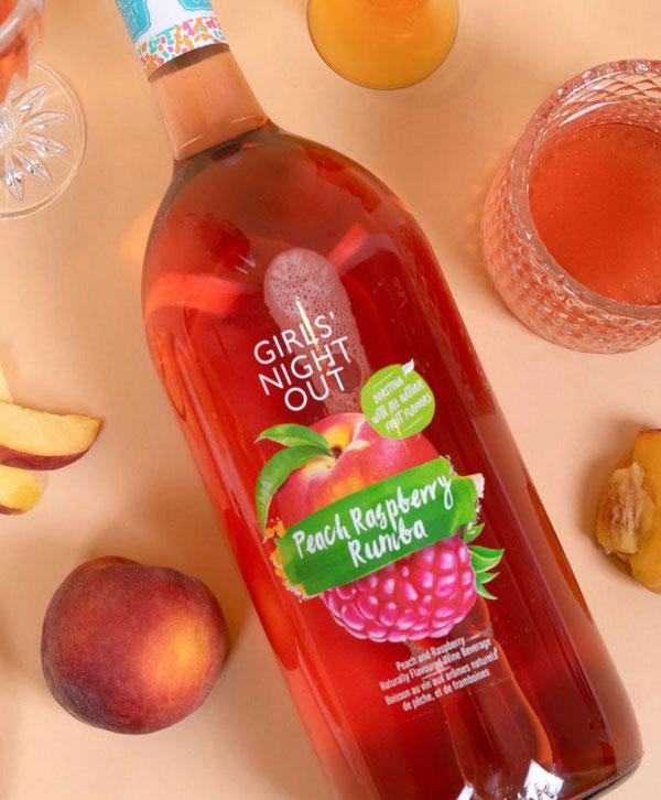 Peach raspberry rumba - Girls' Night Out