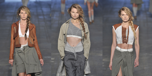 Alexander Wang: On the sidelines