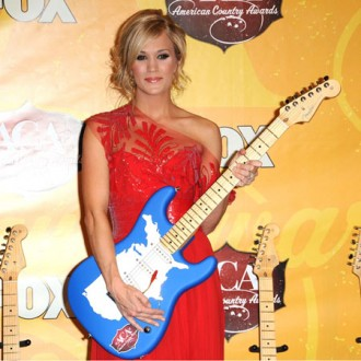 Carrie Underwood overloaded with awards