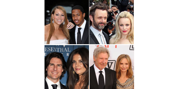 Hollywood's oddest couples