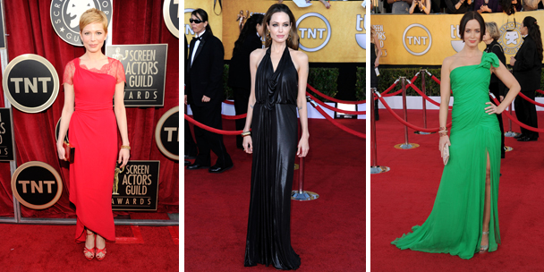 Read carpet style: Best dressed at the 2012 SAG Awards