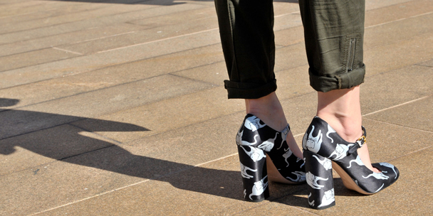 Spring 2012 fashion trends: Unconventional high heels