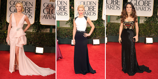 Best dressed at the 2012 Golden Globes