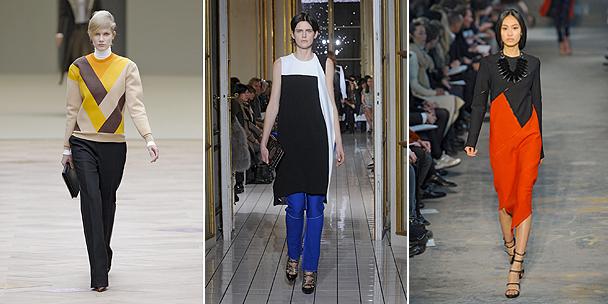 Winter fashion: Colour blocking