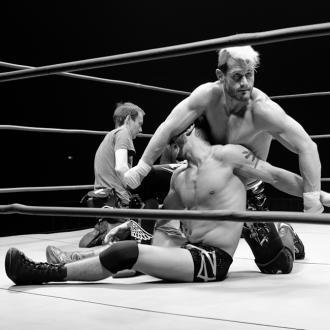 Get Cape. Wear Cape. Fly. release wrestling video