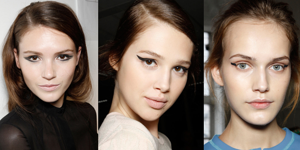 Spring beauty trend alert: Eyeliners, from graphic to girlie