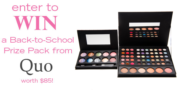 WIN a Quo makeup prize pack