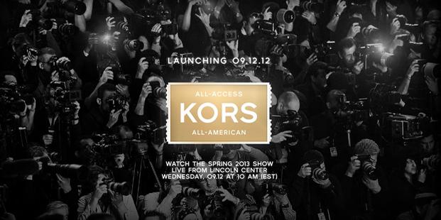 Live stream: Michael Kors Spring/Summer 2013