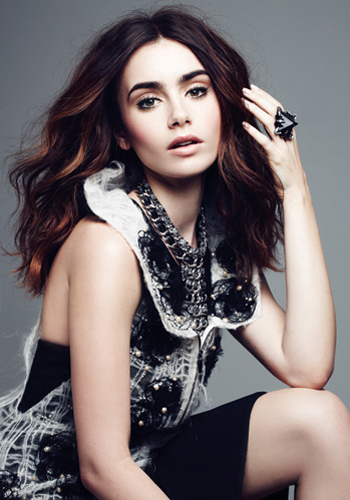 Celebrity interview: Lily Collins