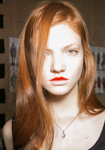 Red hair: 7 rules to live by