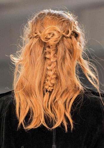 Beauty trend lesson: Rodarte's braids