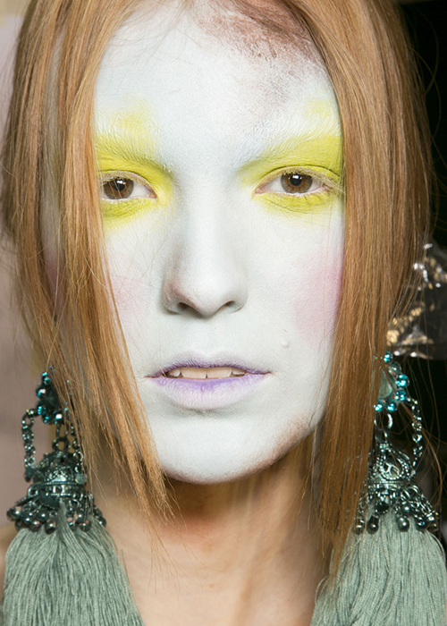Fall 2013: The craziest runway beauty looks