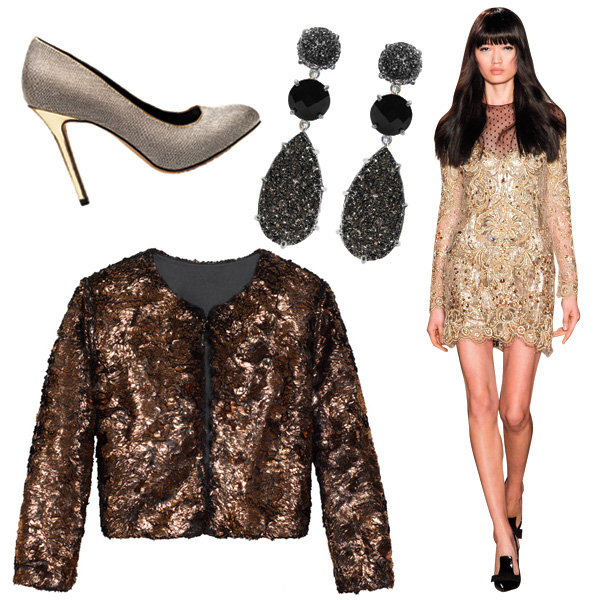Holiday style: How to wear metallics