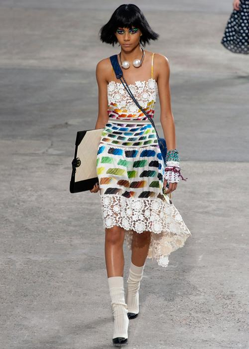 Spring 2014 trend: Art and fashion