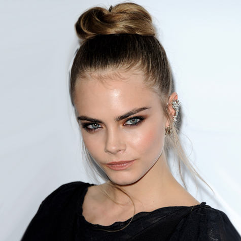 Celebrity hairstyles: Topknots, buns and chignons