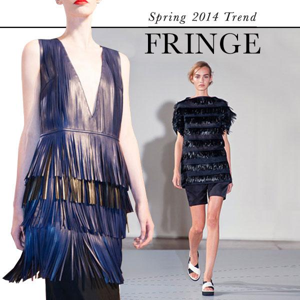 Fringe: Top Spring 2014 fashion trend
