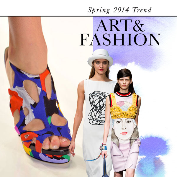 Art and fashion: Top Spring 2014 fashion trend