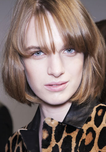 Bang hairstyles: How to grow out your fringe