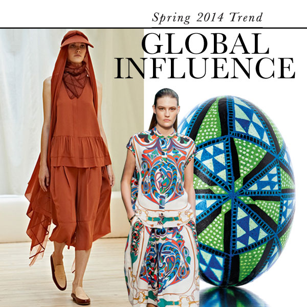 Global influence: Top Spring 2014 fashion trend