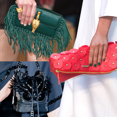 Spring 2014 fashion: The top bags from the runway