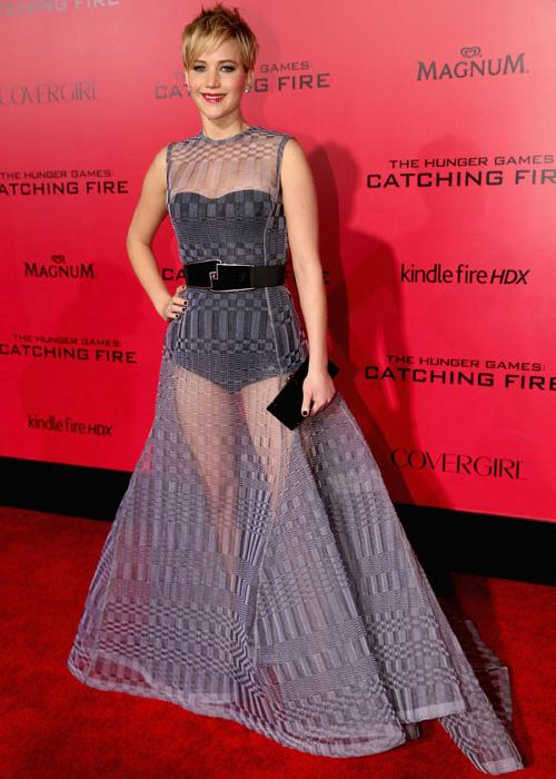 Red carpet style: Jennifer Lawrence