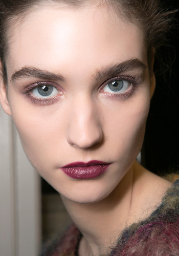 Makeup tips: How to wear a burgundy lip