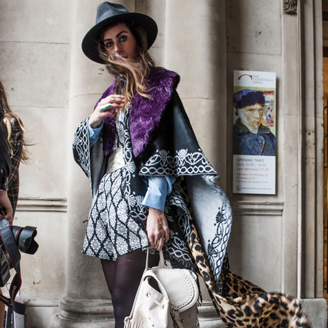 Best street style: London Fashion Week Fall 2014