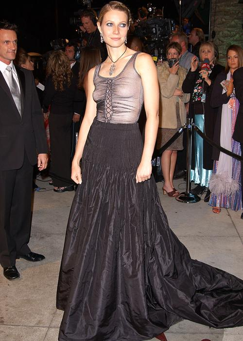 Gwyneth Paltrow style: The gothic Alexander McQueen