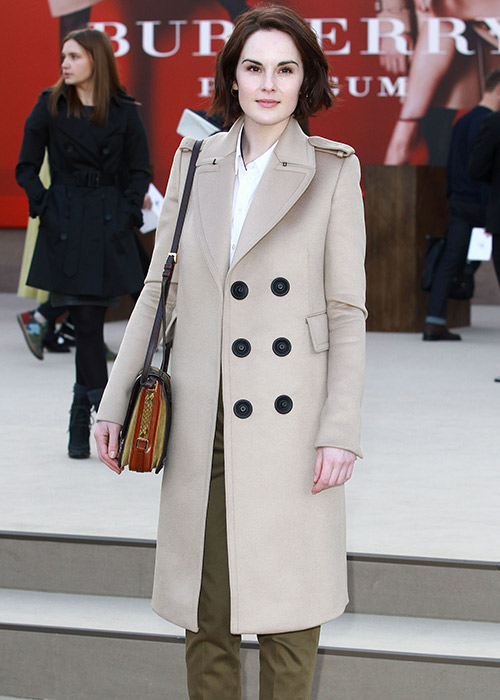 Top celebrity Burberry trench coat looks