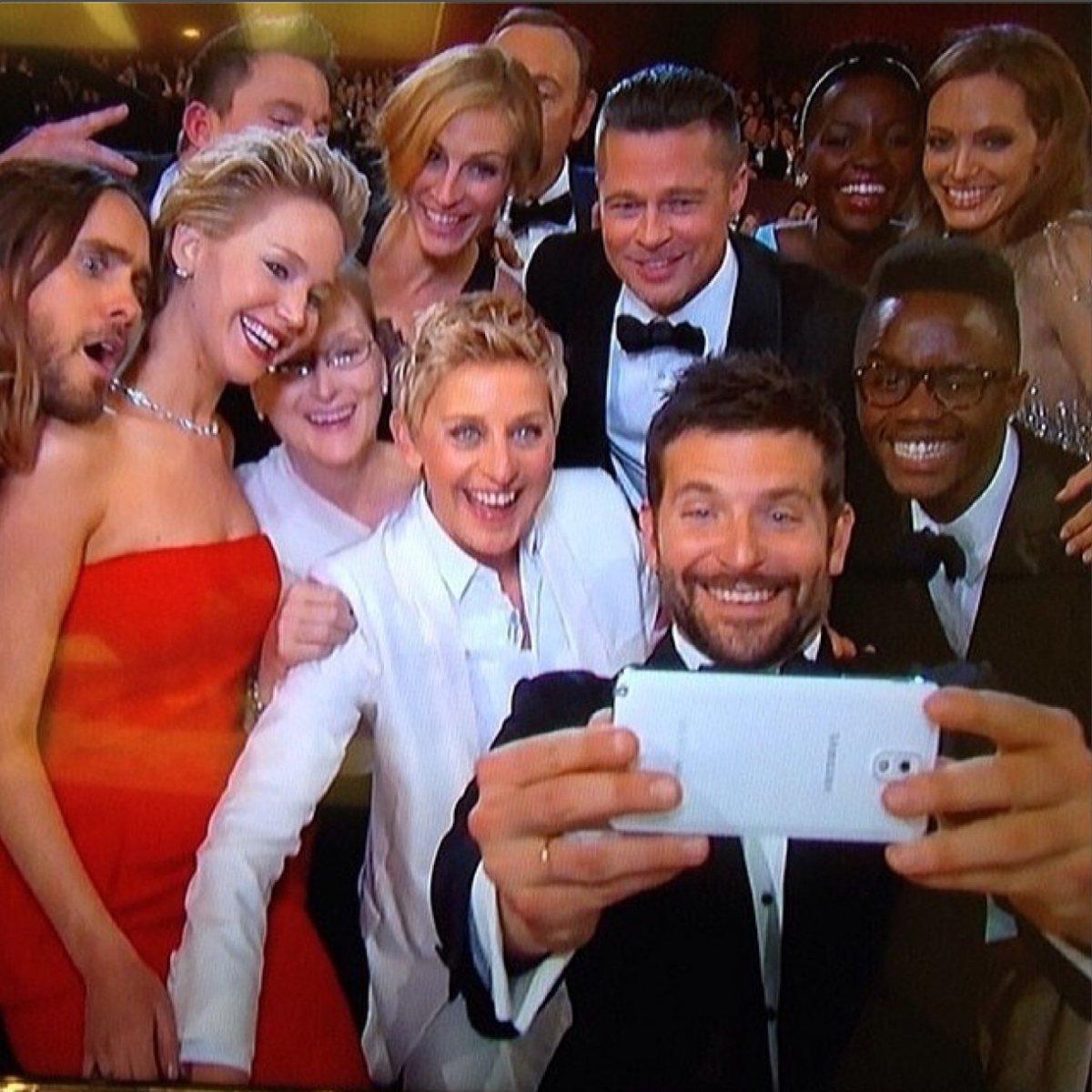 The Best Instagrams of the 2014 Oscars