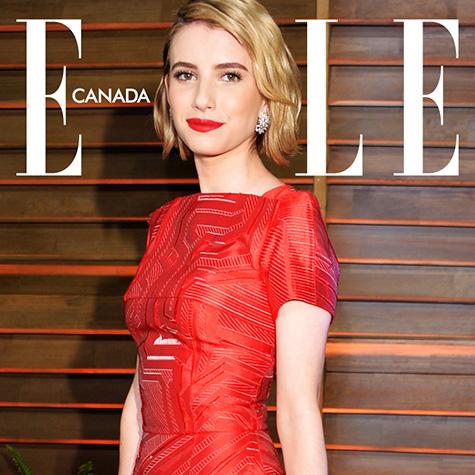 ELLE Canada Live Cover: Emma Roberts