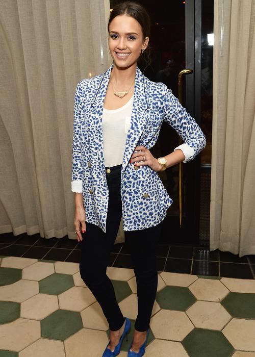 Best dressed: Jessica Alba