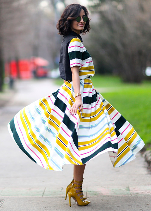 Pretty summer dresses: Streetstyle looks