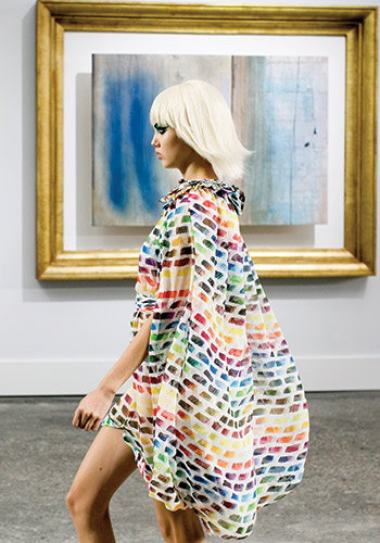 Fashion and art: Why they collide so well