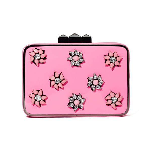 Summer 2014 florals: Nasty Gal clutch