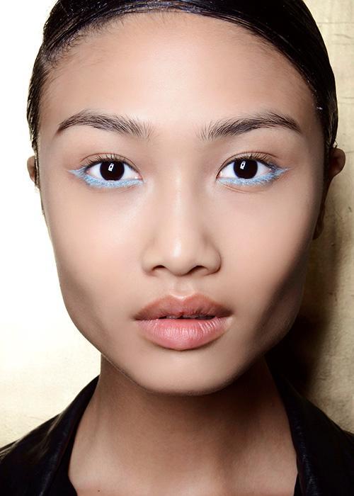 Pretty eye makeup: Talbot Runhof