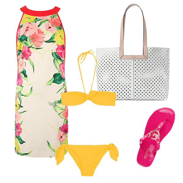 Beach-to-bar outfit: The dinner date