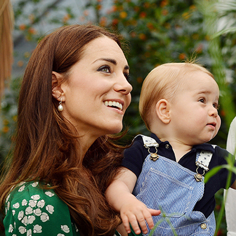 Best pics of Kate Middleton and Prince George