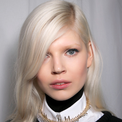 The top 11 models with platinum hair
