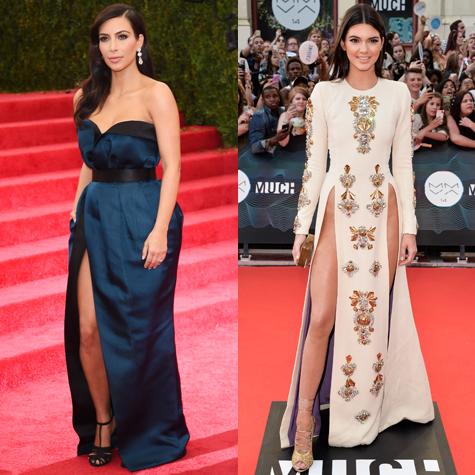 Style wars: Kim Kardashian vs. Kendall Jenner