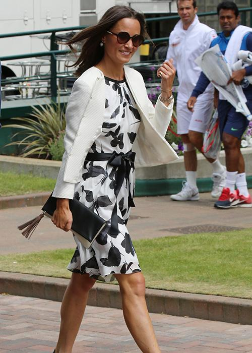 Pippa Middleton style: Tennis chic