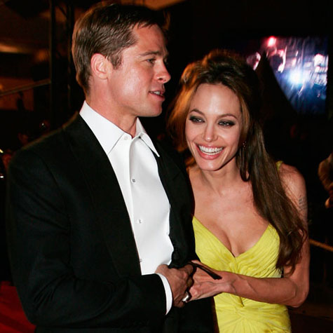 Angelina Jolie and Brad Pitt in love: Best photos ever