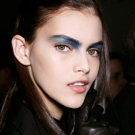 The most colourful eye makeup for fall 2014