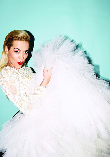 Rita Ora talks Beyonce, film and fragrance