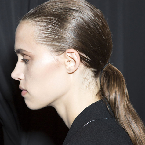 NYFW Spring 2015 hair trend: Ponytails